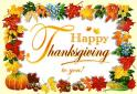 Happy Thanksgiving from Edward Moore